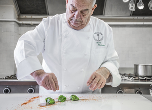 Chef Mauro Ricciardi food photography by Ancillotti